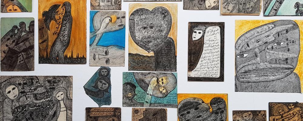 exposition Rashidi Mehrdad art brut