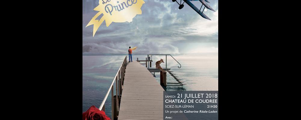 Le petit prince, Chateau de Coudrée, Lac Léman, été 2018, Sciez