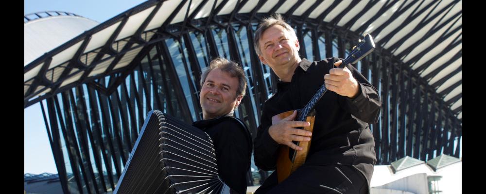Concert Dimanche 10 mars à 17h: Duo JBANOV & BIRIOUKI au Château de Coudrée Sciez Genève
