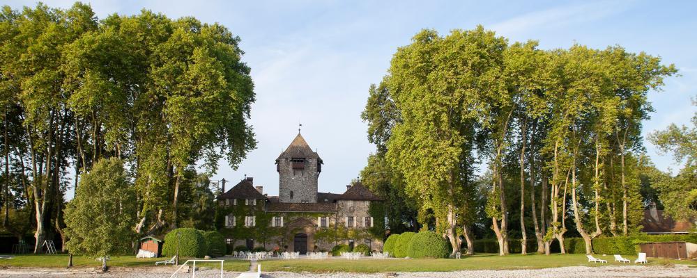 Le petit prince, Chateau de Coudrée, Lac Léman, est reporté, Sciez