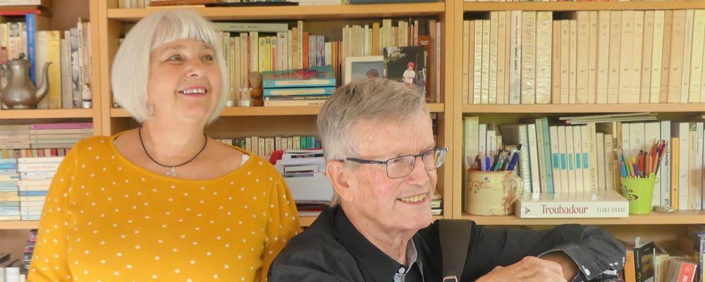 Patricia Chatelain et Jean-Claude Reynaud dimanche 2 décembre à 17h au Chateau de Coudrée pour une rencontre de la poésie avec la musique