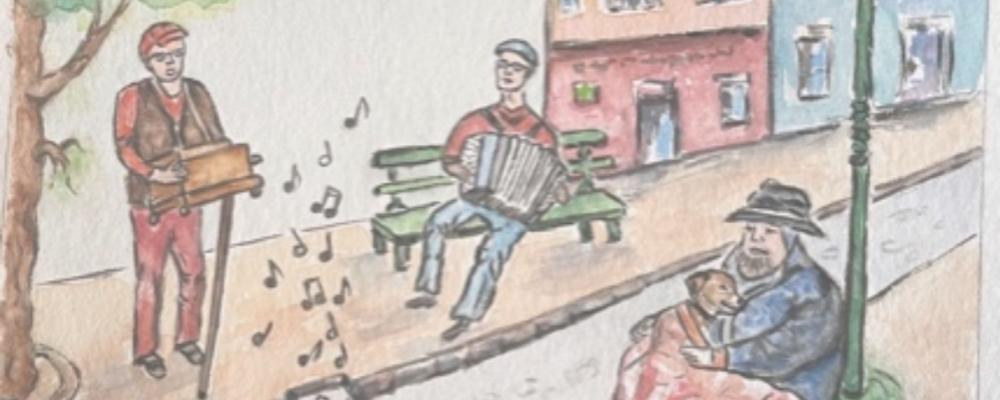 """Concert """"Duo de la rue"""" Dimanche 19 septembre à 17h30"""