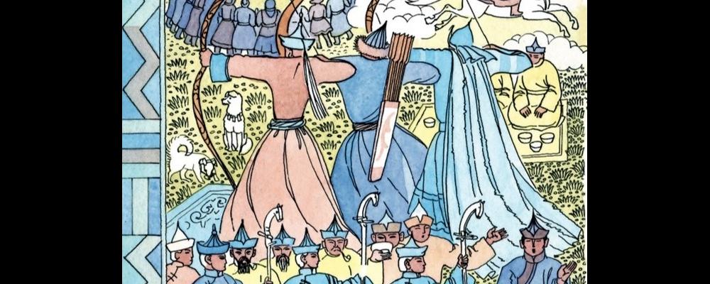 Exposition autour des contes du Baïkal... tradition de Sibérie