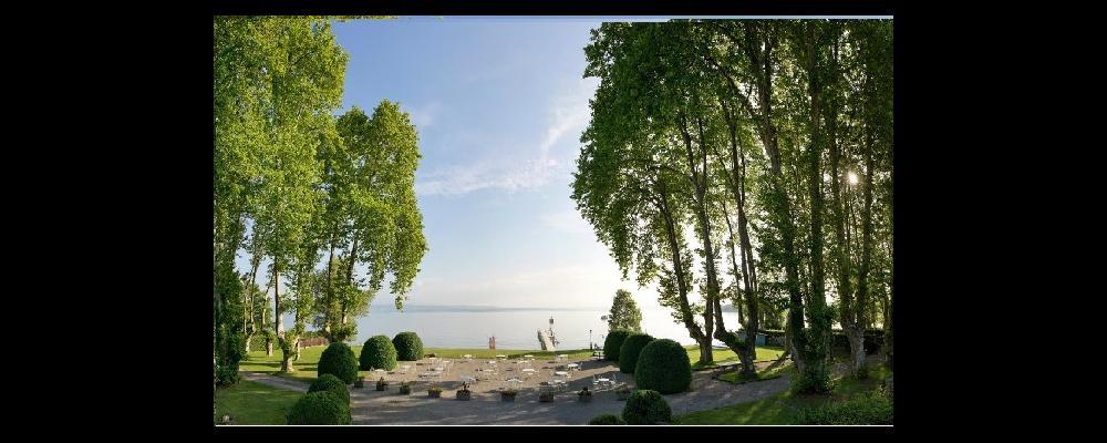lundi de pâques, château de coudrée, lac léman
